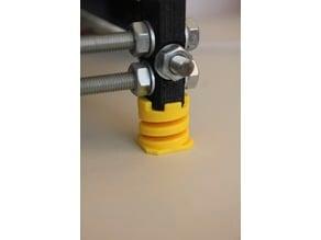 Vibration Dampener for Prusa i3 : The Springy Feet