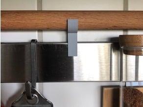 IKEA RIMFORSA Wellholz-Halter - Tapered Rolling Pin Holder