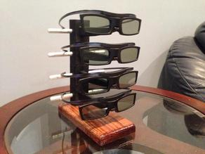 3D Glasses Stand Samsung Smart TV
