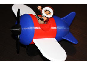 Push Toy, Airplane - DUPLO Compatible