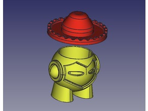 Marvin CUP with Spanish 'charro' hat cap