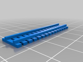 1/87 Fence A (3 sizes)