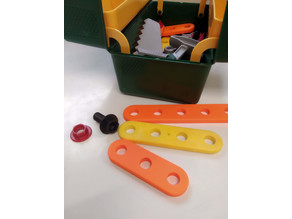 Theo Klein Bosch Toolbox Drilled Bars