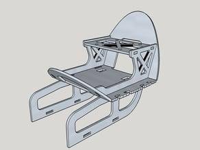 Bixler V1.1 Pixhawk / PX4 mount