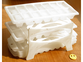 Ice Cube Tray Rack 3