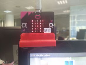 Microbit monitor adapter for office Busy-Free