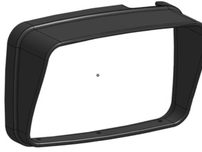 TomTom Rider 410 sun shield