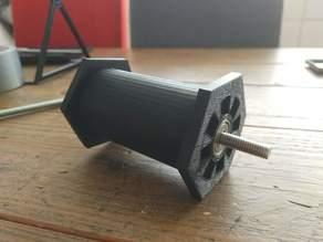 52mm spool holder for bearing (22mm outer diameter)
