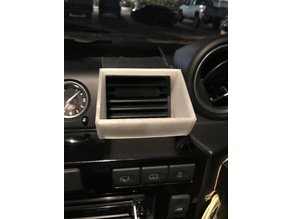 Land Rover Defender Air Vent Redirect
