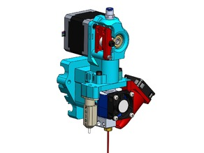 Prusa I3 Extruder (Flexible Filament)(Mk7/MK8)(BLTouch/18mm Capacitive Sensor/12mm Inductive Sensor))