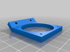 40mm Geeetech Aluminum Prusa i3 Cooling Fan Bracket Fixed