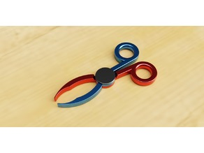 Scissor Style Tweezers/Mini Tongs