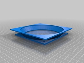 140mm to 120mm PC Case Fan Adapter (20mm height)