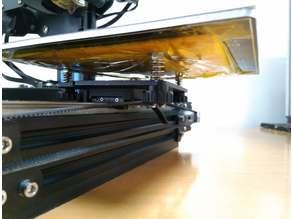 Ender 2 Y axis MGN12 linear rail mod