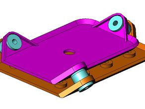 Mobius camera vibration isolation mount