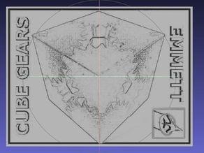 Emmett's Cube Gears Lithophane