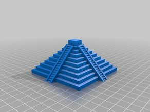 The chichen Itza pyramid