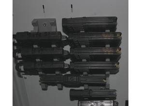 Magazine holder gun safe AR15
