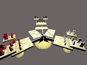 3 Player 3D Chess