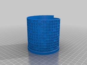 Declaration Independence Text Tower Cup