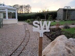 Railway Track Signs