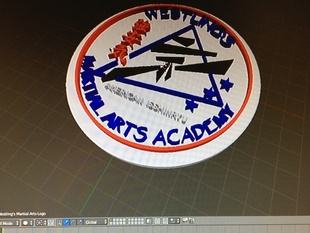 Westling's Martial Art's Academy Patch