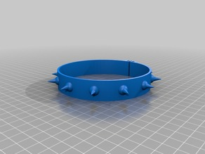 Choker buldog type - magnetic closure