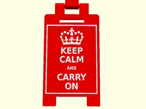 Mini Floor Stands - Keep calm and ...