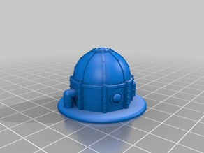 Industrial Dome Objective Marker for Epic 40K (6mm scale)