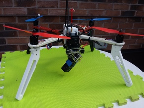 extended leg for F450 size quadcopter