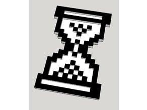 Pixelated Hourglass