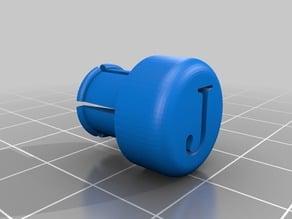 Vaper plug cap for the noozle