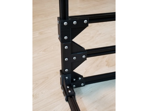 2020 Strong 2-Way and 3-Way Corner and T Brackets - Flat / Cut Base