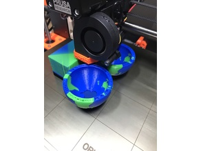 Multi-Color World Hollow with Stand