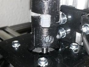 Spider coupling with rubber insert stepper motor for Threaded shaft stepper motor
