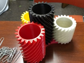 Helical Gear Cups - Tetra