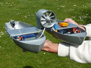 Two Hulled Impeller Boat RC (experimental)