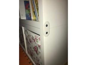 Ikea Kallax shelf connector