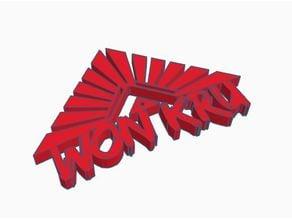 The 100 wonkru logo