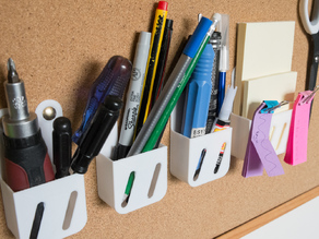 """Cohrque"" -- The corkboard organisation kit"