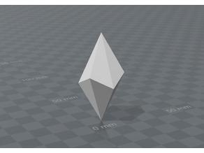 Trigonal Skalenoeder crystal
