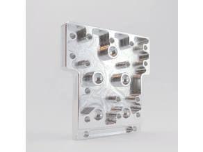 RailCore II Aluminum Idler Plate Printed Components
