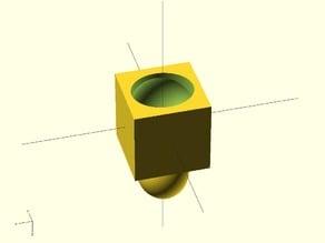 Ellipsoid Interlocking Blocks