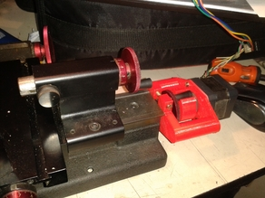 Stepper motor support for Sherline lathes