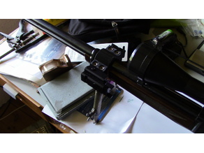 Accessory band w picatinny rails for browning rifle BL-22