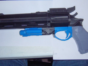 Sliced - Destiny Exotic Hand Cannon Hawkmoon 1:1 Scale