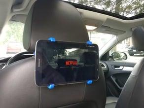 Galaxy Tab 8 Headrest clip for car