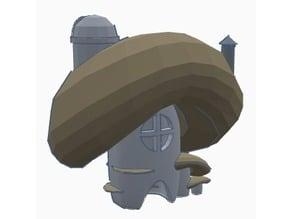 Mushroom House/Figurine House