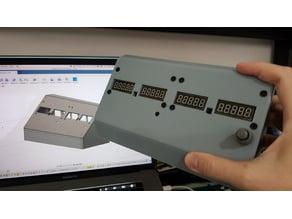 Radio/Nav panel for Flight Simulator