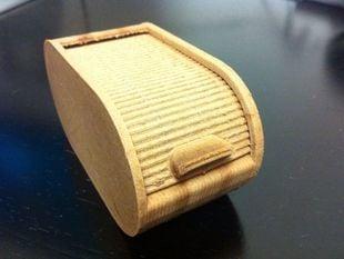 Roll Top Box - round